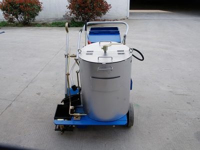 What is the capacity of paint tank?
