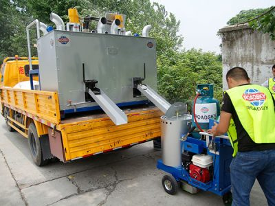 Instruction of Hydraulic Double Tank Preheater