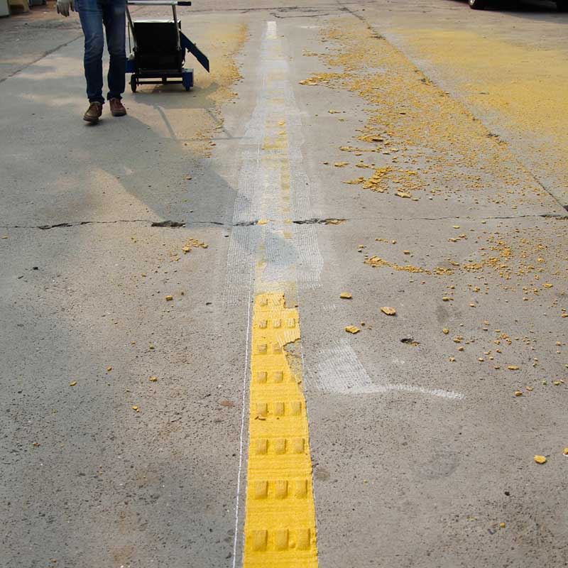 RS-6 Road Marking Line Removal - Nanjing Roadsky Traffic