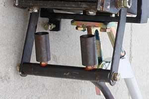 Front fire nozzle