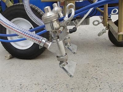 line striper glass beads dispenser