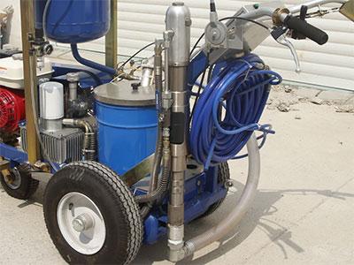 line striper hydraulic pump