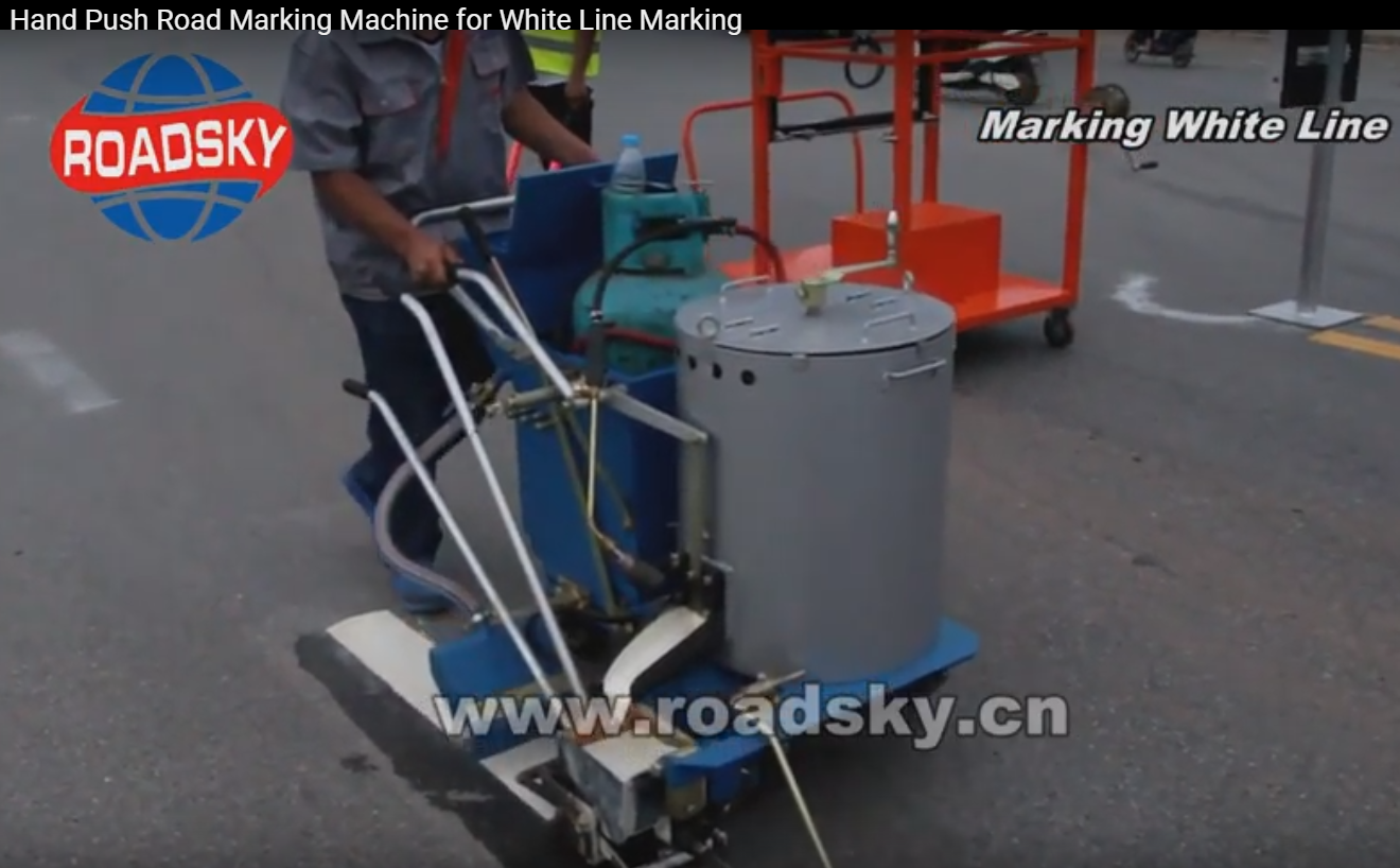 Main Auxiliaries for the Pavement Marking